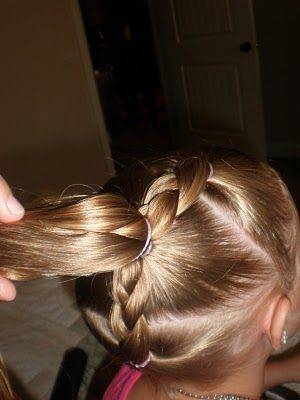 Love This It Was So Cute Quick And Easy Looked Great Even Basketball HairstylesSide