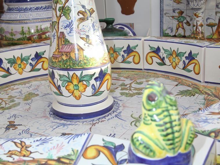Fuentes estilo andaluz para instalar en patios y jardines for Patios y jardines
