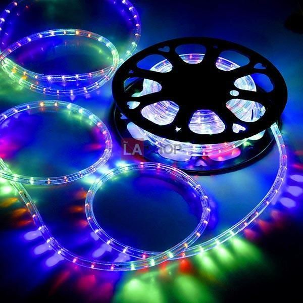 Delight 50ft Outdoor Lighting Led Rope Light W Connector Color Opt Led Rope Lights Led Rope Rope Light
