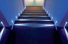Step simes led lights illuminazione pinterest exterior wall