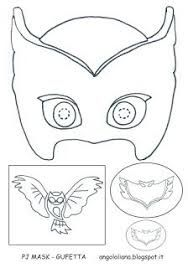 Beautiful Image Result For PJ Masks Owlette Mask Template
