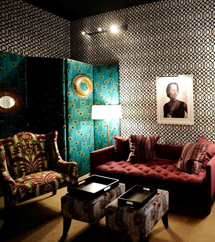 Iman Home Worldly Prints With A Modern Atude Heincker Design Blo