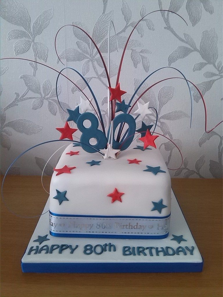 Terrific 32 Elegant Picture Of 80Th Birthday Cake Ideas With Images 80 Funny Birthday Cards Online Hendilapandamsfinfo