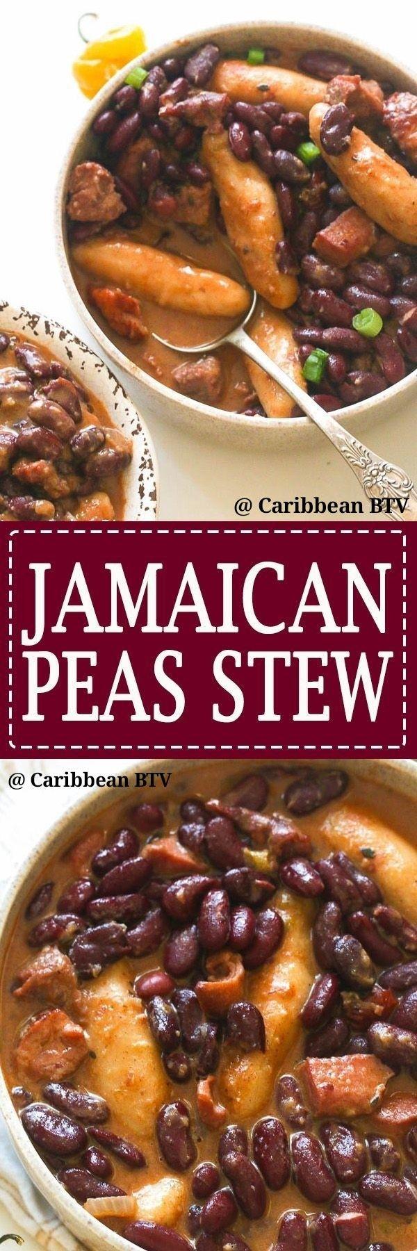 jamaican pea stew caribbeanbtv jamaicanculture