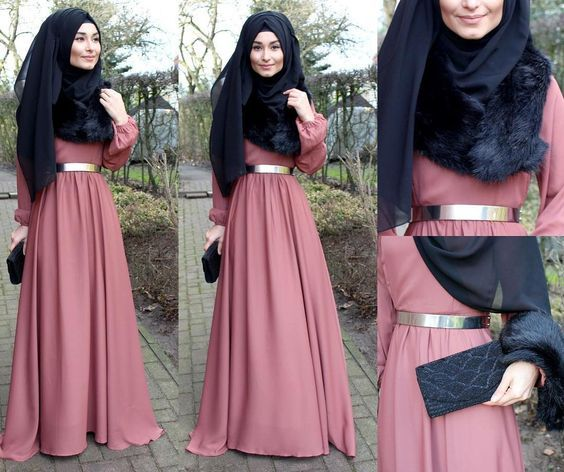 Dress / Kleid / Elbise - @veronacollection  Belt / Gürtel / Kemer - Zara  Scarf / Schal / Sal - H&M