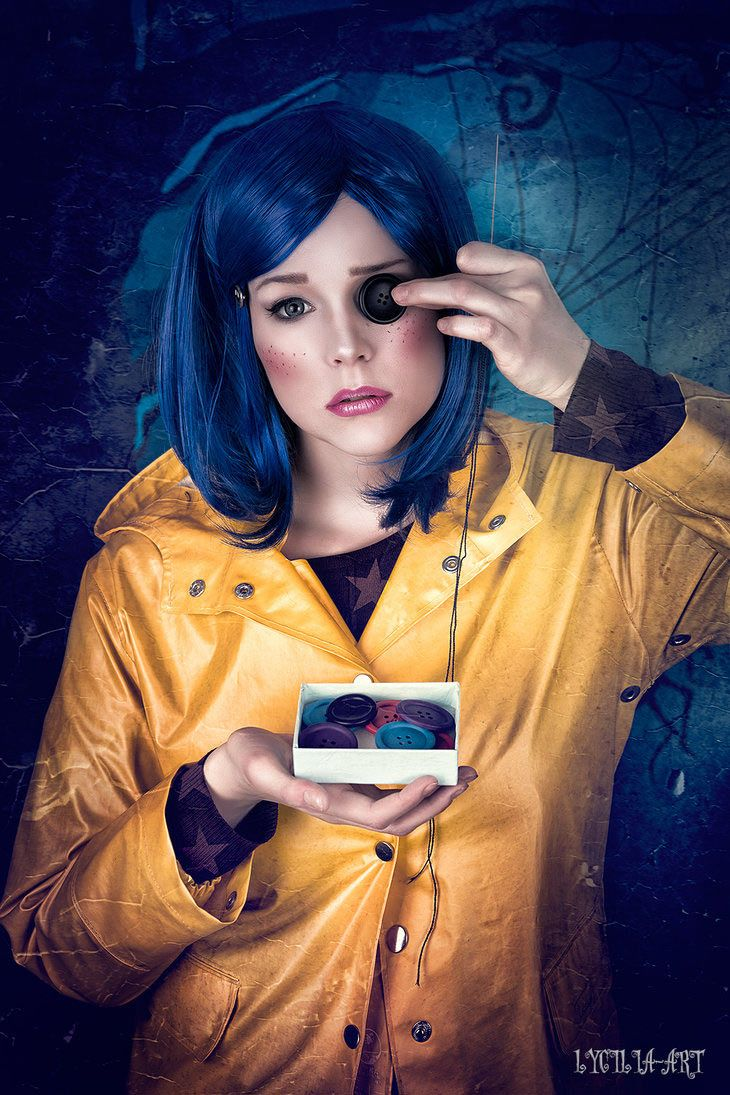 diy coraline costume | 2018 diy halloween costume ideas | pinterest