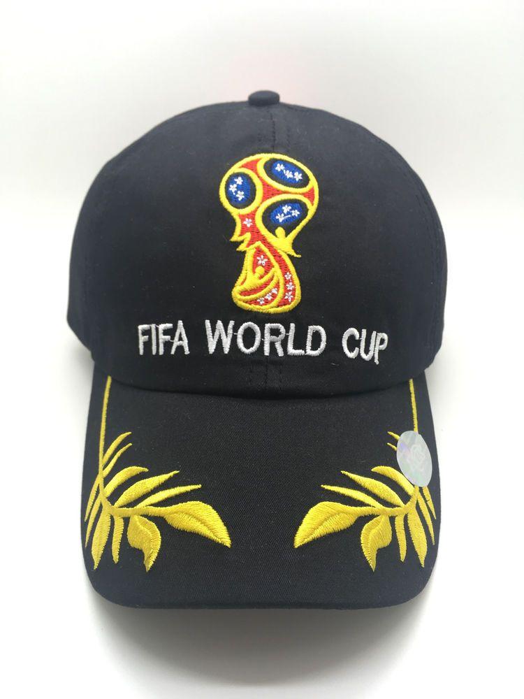 7fa167bff1b FIFA World Cup Russia 2018 Adjustable Cap Black