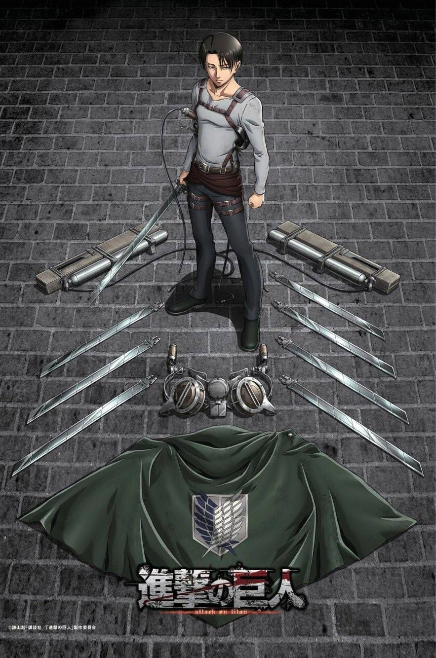 'Attack on Titan' Shares Season 3 Levi Poster Attack on