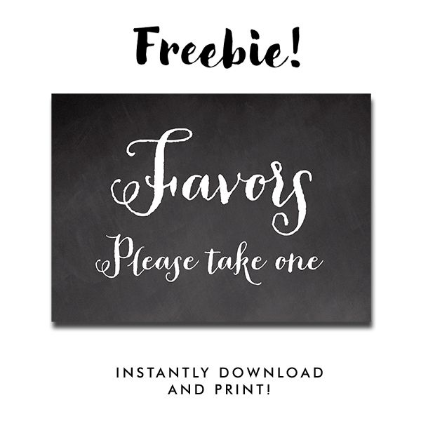 image regarding Free Printable Please Take One Sign called Absolutely free Printable Marriage ceremony Signal Chalkboard Peoni - Favors Make sure you