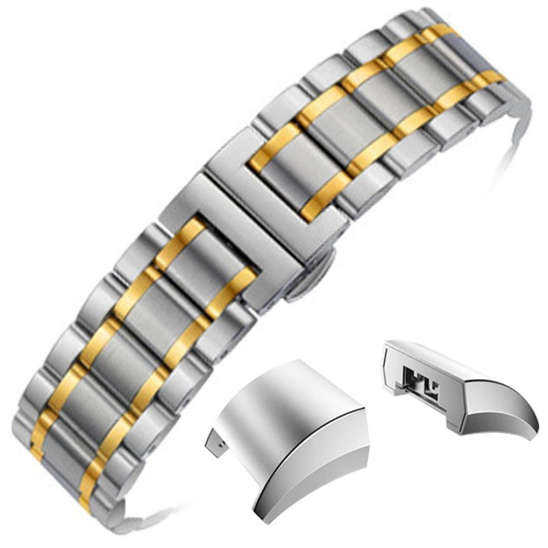For Fitbit Charge 2 Bands, UMFun Genuine Stainless Steel Bracelet Smart Watch Band Strap For Fitbit Charge 2 (A). ☛: Easy to adjust the length to fit your wrist. ☛: Contracted design style, with you life contracted and not simple. ☛: Material: Stainless Steel. ☛: Compatible For Fitbit Charge 2. ☛: Strap length: Approx.175-230mm (6.8''-9.0'').