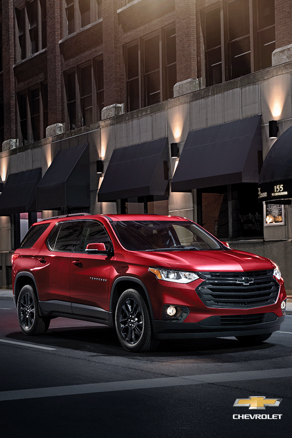 Too good not to share. The allnew 2018 Chevy Traverse