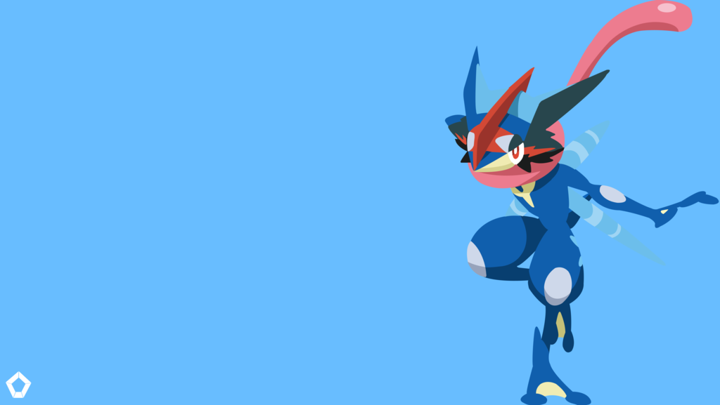 Ash S Greninja Pokemon Minimalist Wallpaper 4k By Darkfate1720 Cool Pokemon Wallpapers Hd Pokemon Wallpapers Minimalist Wallpaper