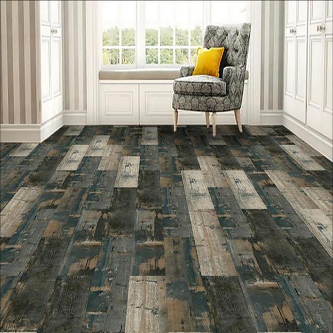 Deco Products 20 Piece 6 In X 36 In Swing Green Blue Beige Brown Luxury Vinyl Plank Flooring Lowes Com In 2020 Luxury Vinyl Plank Luxury Vinyl Plank Flooring Vinyl Plank