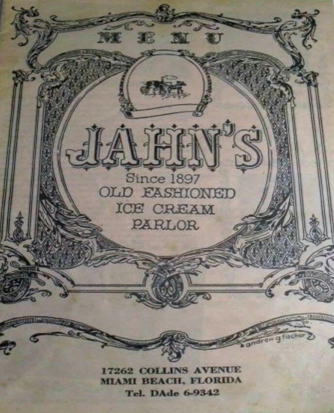 Jahn S Ice Cream Parlor Restaurant Home Of The The Infamous Kitchen Sink Jahn S Was An