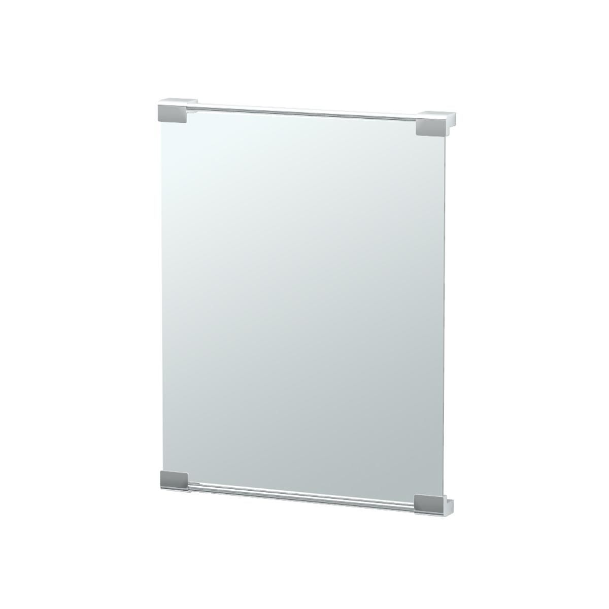 Minimalist Rectangular Bracket Mirror - Small
