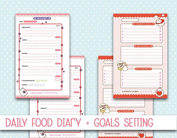 Mini Happy Planner Inserts Molang health and fitness printable