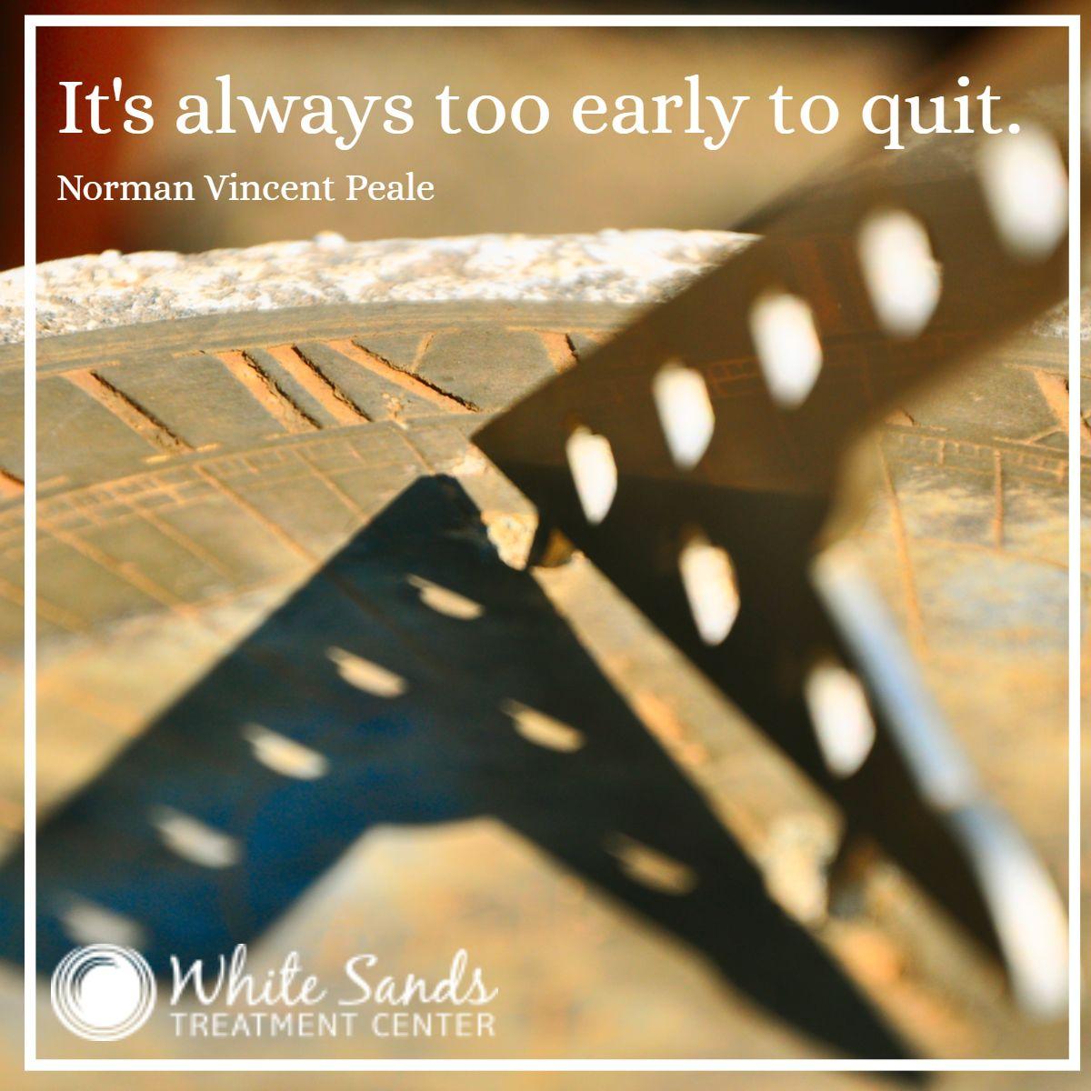 No matter how hard it gets, no matter the setbacks, no
