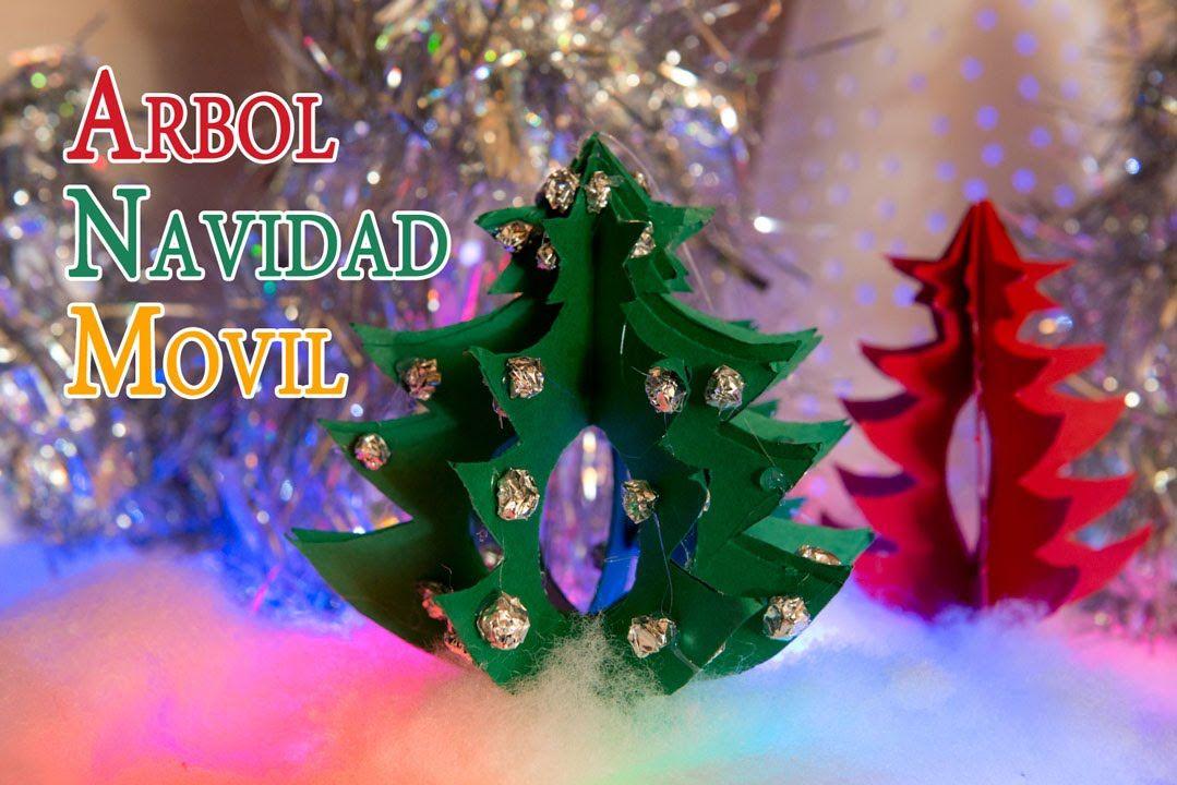 Arbol de navidad movil para decoracion o centro mesa - Decoracion de mesa para navidad ...