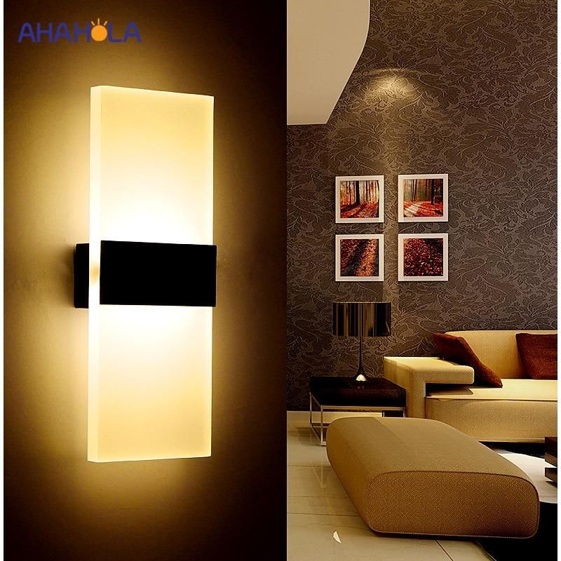 Modern Wall Light Led Indoor Wall Lamps Led Wall Sconce Lamp Lights For Bedroom Living Room Stair Mirror Light Lampara De Pared Wall Lights Wall Lamp Wall Lamp Shades