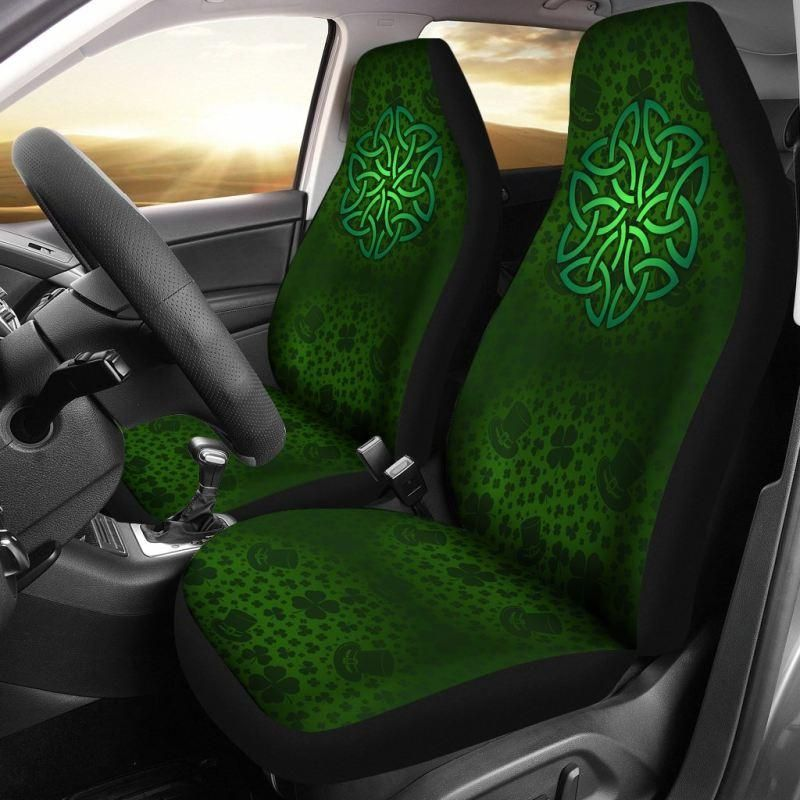 Excellent Celtic Shamrock Car Seat Covers Ireland K5 In 2019 Jetta Pabps2019 Chair Design Images Pabps2019Com