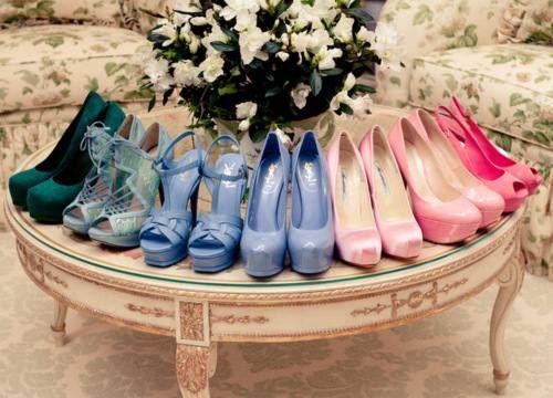 O my gosh I love shoes...