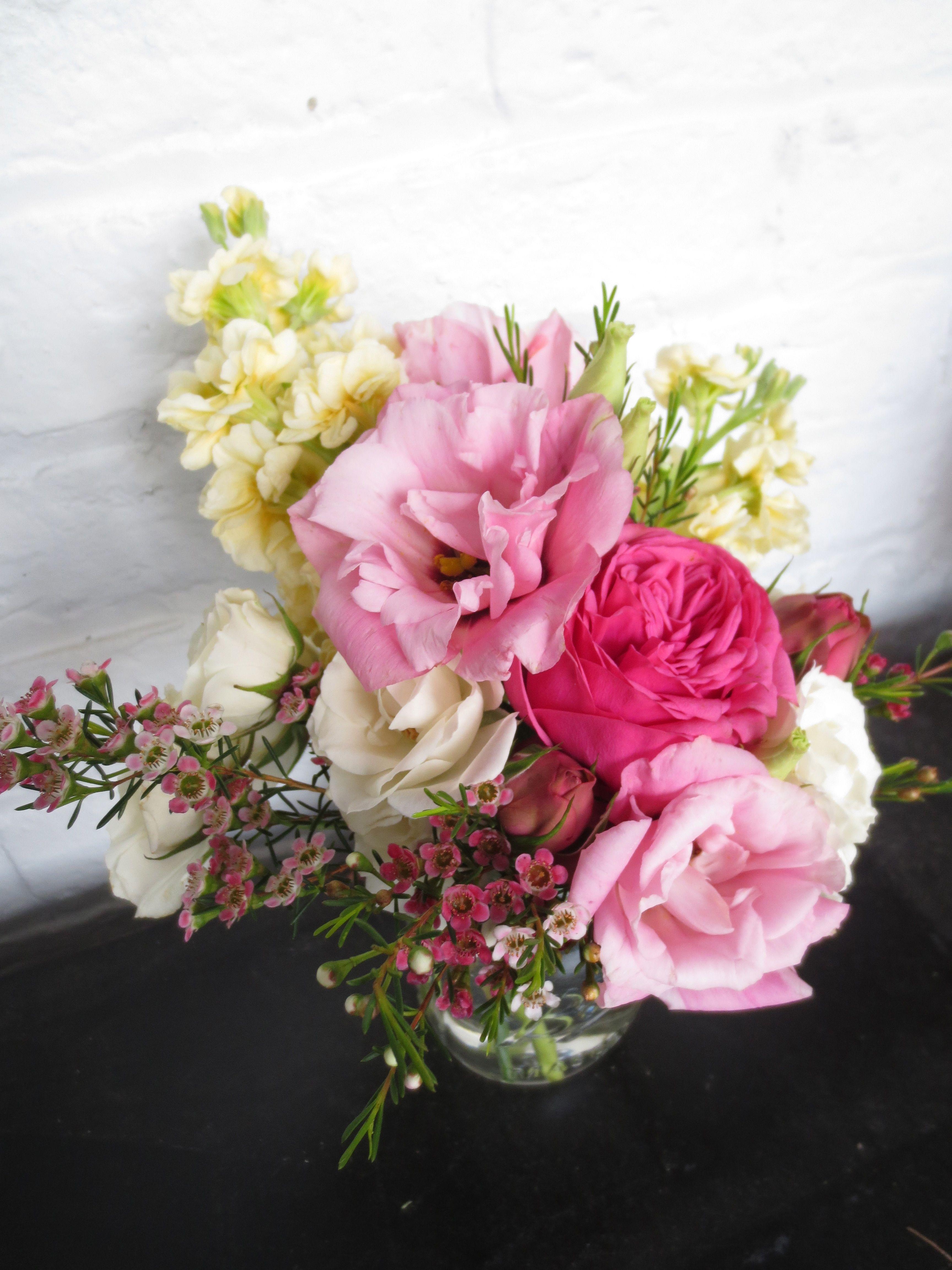 Mason Jar Floral Arrangement for Mother\'s Day! | Wedding | Food ...