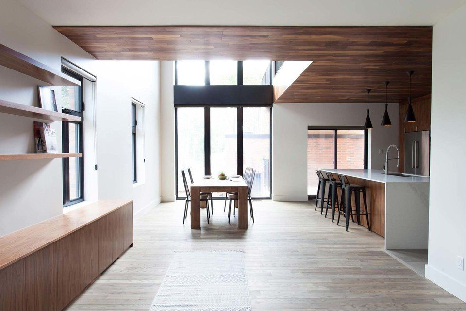 Originally built in the  gounod house is reinvention of  montreal duplex structure begins its second life as single family also interiors pinterest architecture and building rh