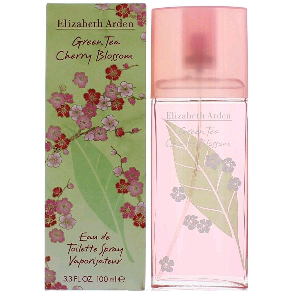 Green Tea Cherry Blossom by Elizabeth Arden, 3.3 oz Eau De