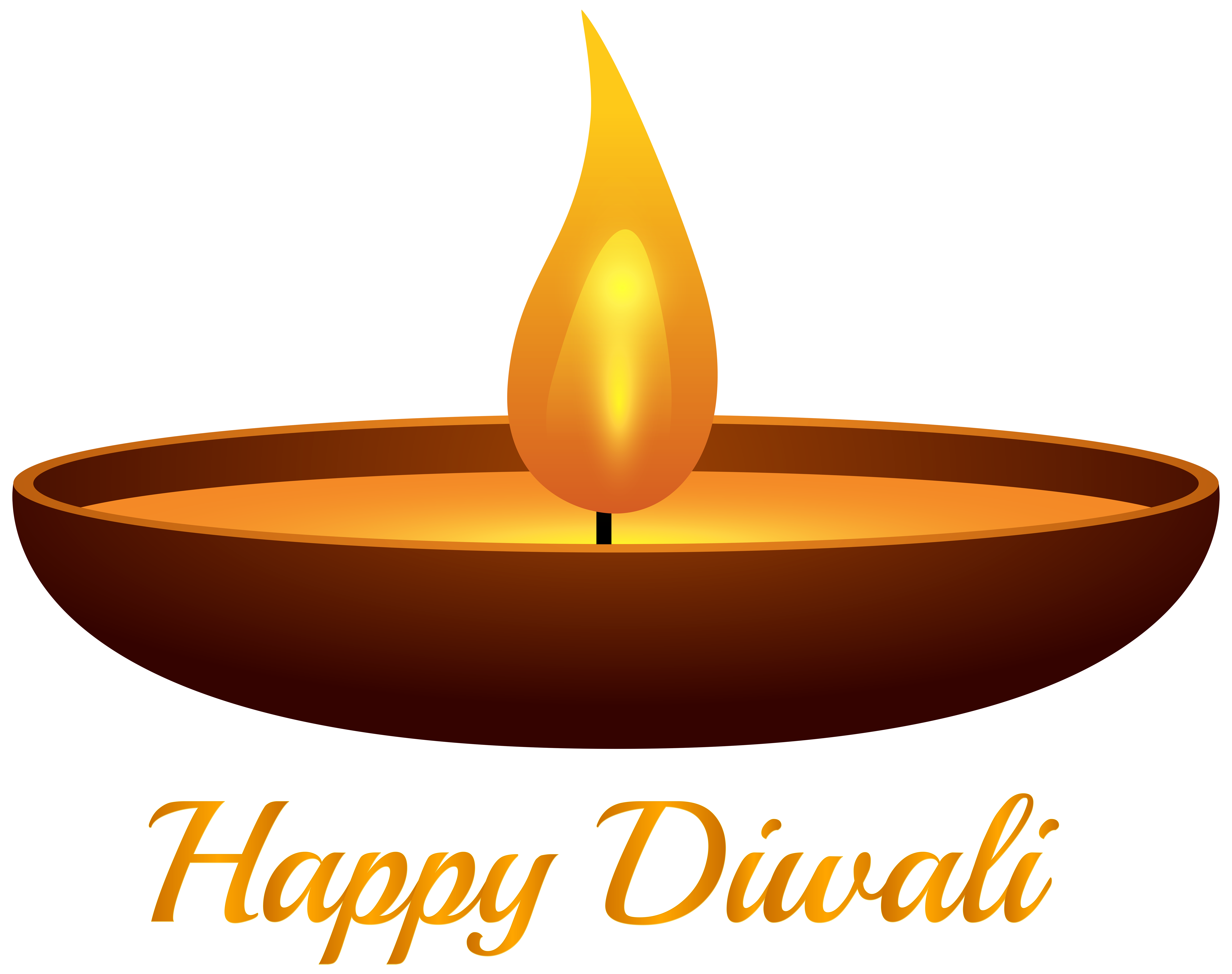 Happy Diwali Candle PNG Clip Art Image | Gallery Yopriceville ... for Diwali Oil Lamp Png  83fiz