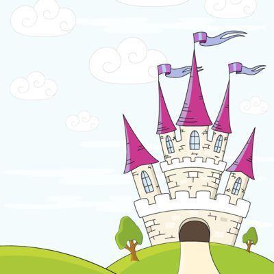 5x5 Princess Castle 3 - Splash Of Color