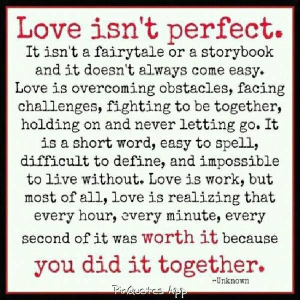 Love Isn T Perfect Wedding Quotes Funny Speech Quote Wedding Speech Quotes