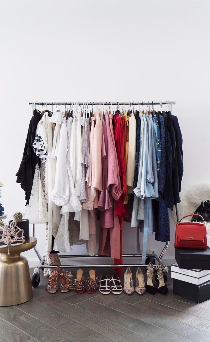 A Fashion Girl's Case For A Cluttered Closet is part of Home Accessories Luxury Dream Closets - Is it possible all the hoopla surrounding The LifeChanging Magic of Tidying Up is wrong  At least when it comes to our closets  As fashion girls we tend to  collect  items of clothing, slowly acquiring the passing trends as they come and go and…