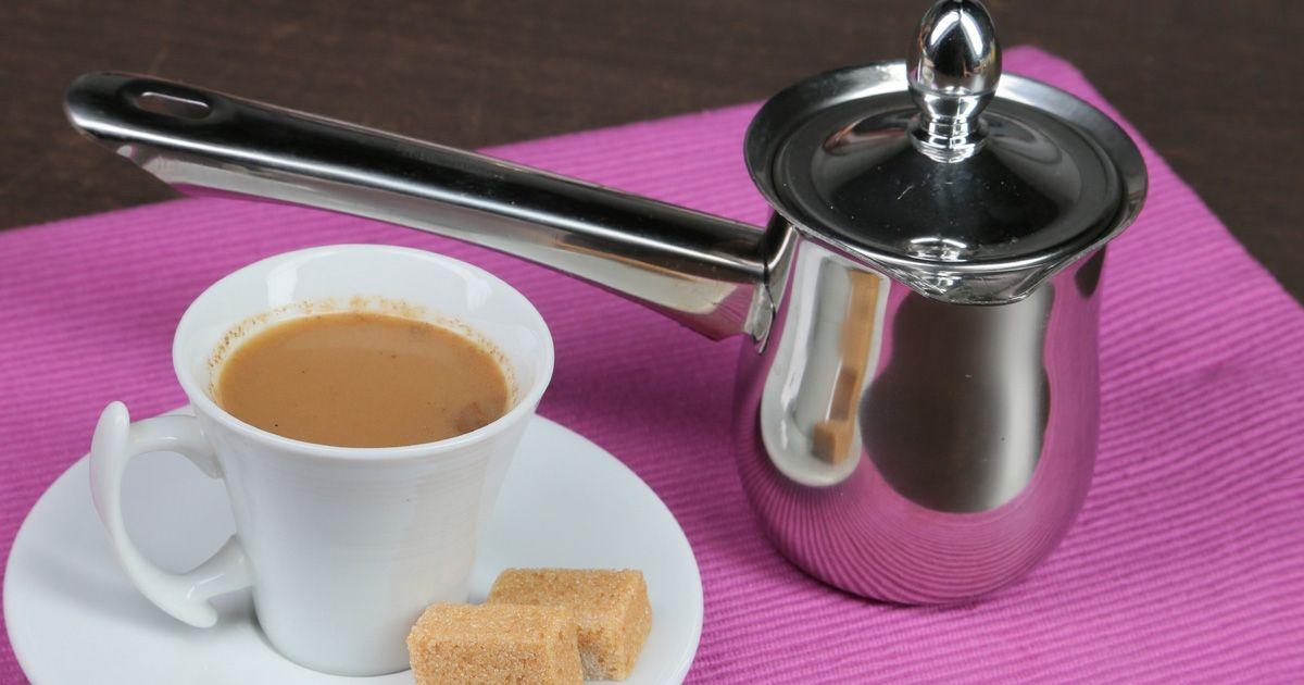 قهوة تركية بالحليب بالفيديو Recipe Arabic Food Turkish Coffee Cooking