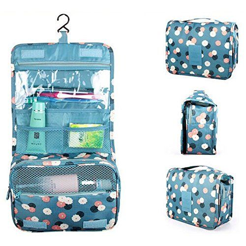 Attrayant Kokome Portable Hanging Toiletry Bag Personal Organizer Bags Makeup Cosmetic  Travel Case Bathroom Shaving Kit Travel