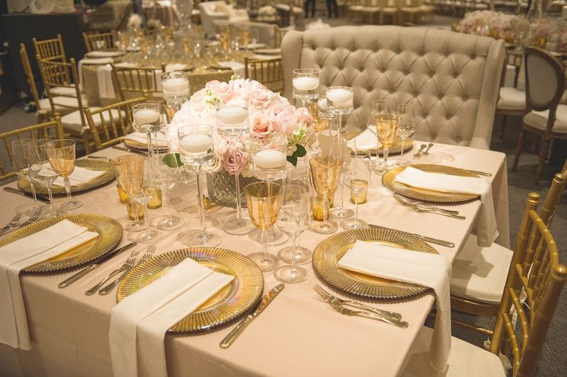 Ivory Table Cloth And Blush Napkins Google Search
