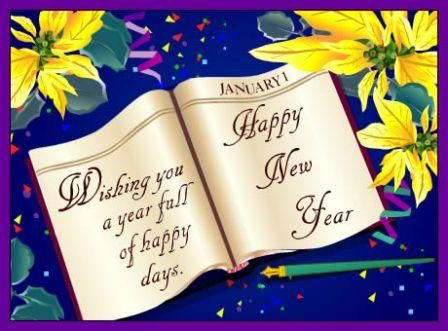 sayings greeting happy new year