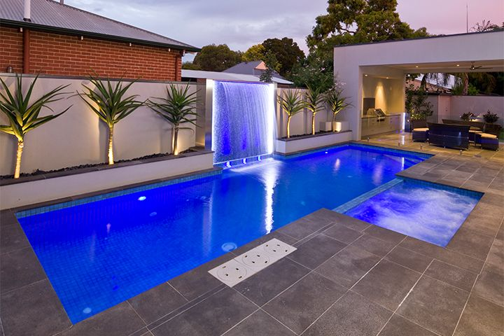 Pin by realtypro academy on spas pools in 2018 - Swimming pool water features perth ...