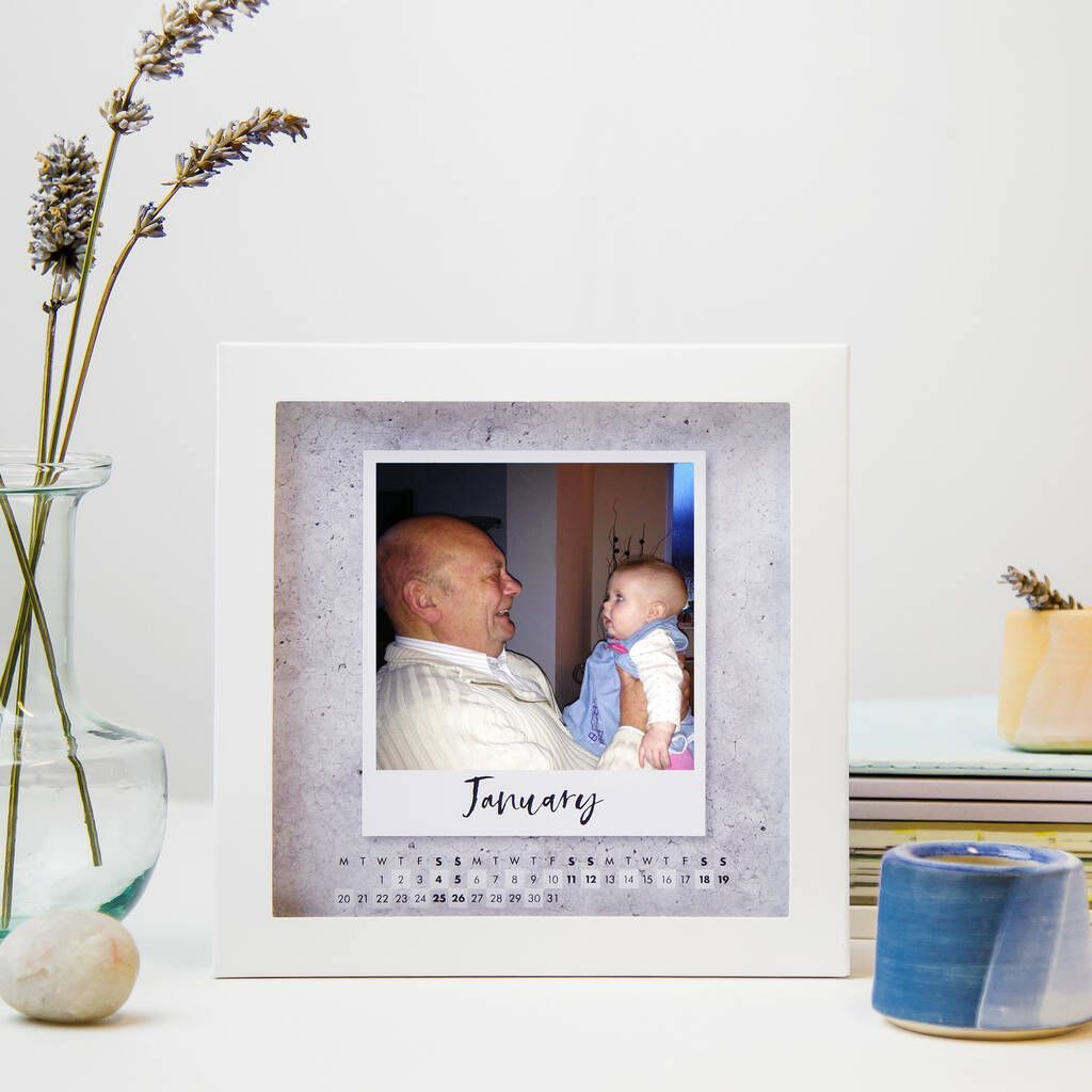Personalised Grandparents Picture Frame Photo Calendar Grandparentphoto Personalised Grandpa Grandparent Picture Frame Photo Calendar Grandparents Photo Frame