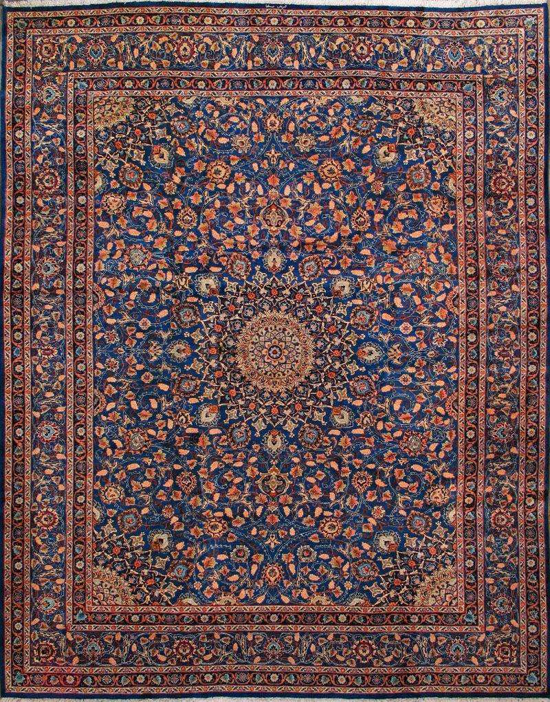 Buy Mashad Persian Rug 10 39 0 Quot X 13 39 0 Quot Authentic Mashad Handmade Rug Persian Rug Rugs Antique Persian Carpet