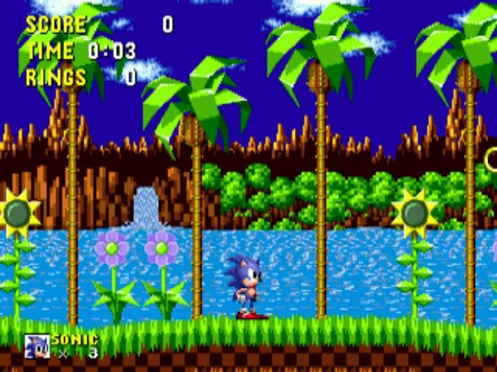 First Level Ever Played Sonic The Hedgehog Sonic Sonic Party