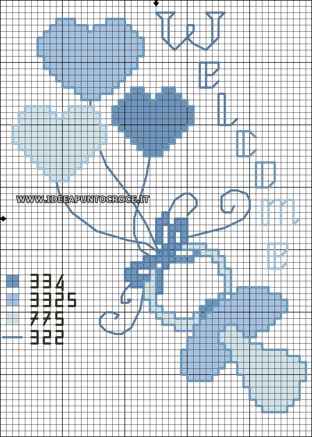 Ciuccio bimbo schema punto croce bambini cross stitch for Idee punto croce bimbi