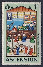 Ascension Island - D'n'D Stamps
