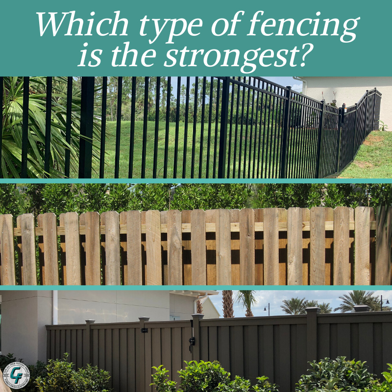 It S Trivia Tuesday Which Type Of Fence Is Most Most Durable