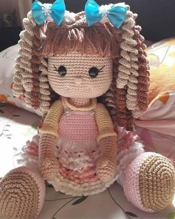 Essa boneca é fofíssima