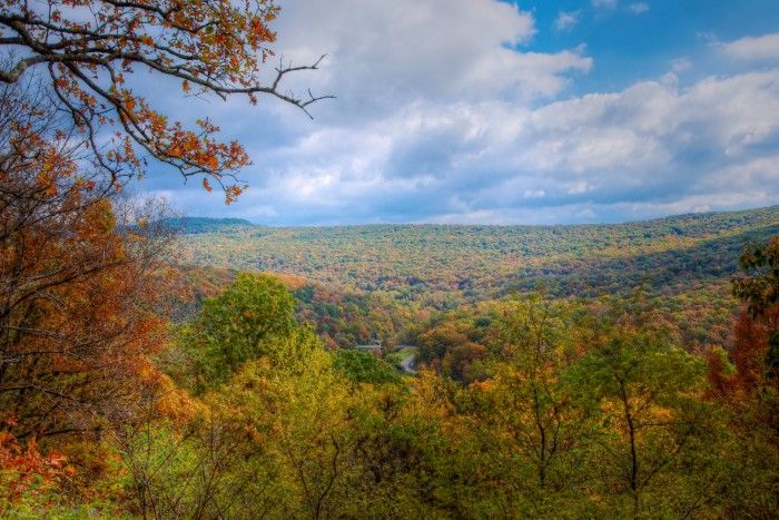 Devil's Den in the Fall, Arkansas.. I wanna see all these places!