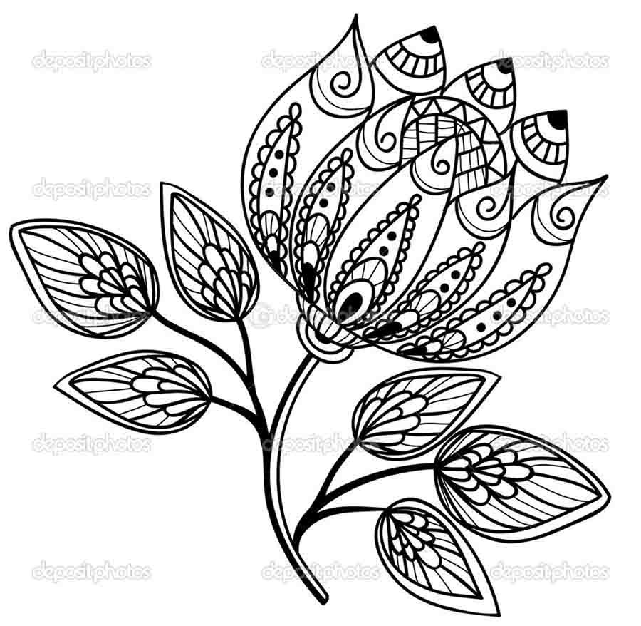 Cute flower designs to draw beautiful flower designs to for How to draw a cute flower