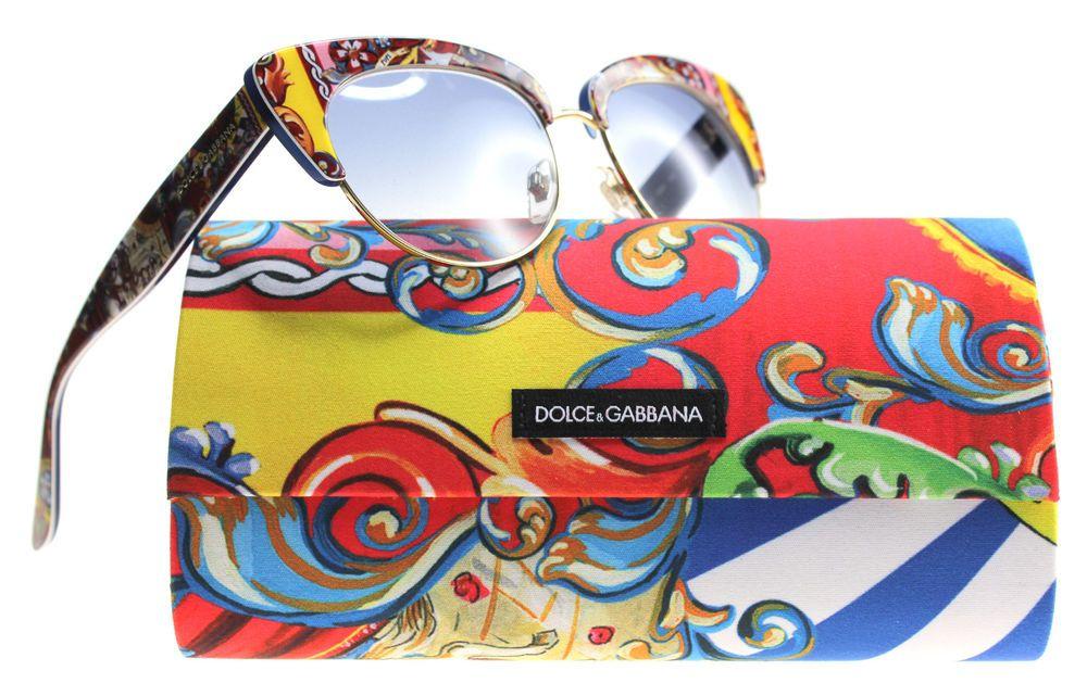 b347e5b26c02 Details about New Dolce and Gabbana Sunglasses Womens Cat Eye DG 4277 Multi  303619 DG 4277 5