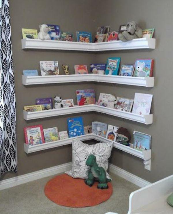 pingl par corinne sorel sur chambre bebe kids room bookshelves bookshelves kids et shelves. Black Bedroom Furniture Sets. Home Design Ideas