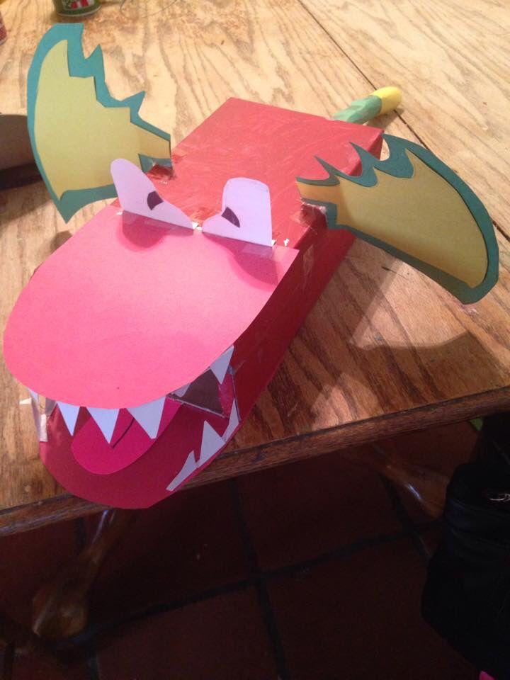 Dragon Valentine box. | Kid Art | Pinterest | Box, Valentines ...