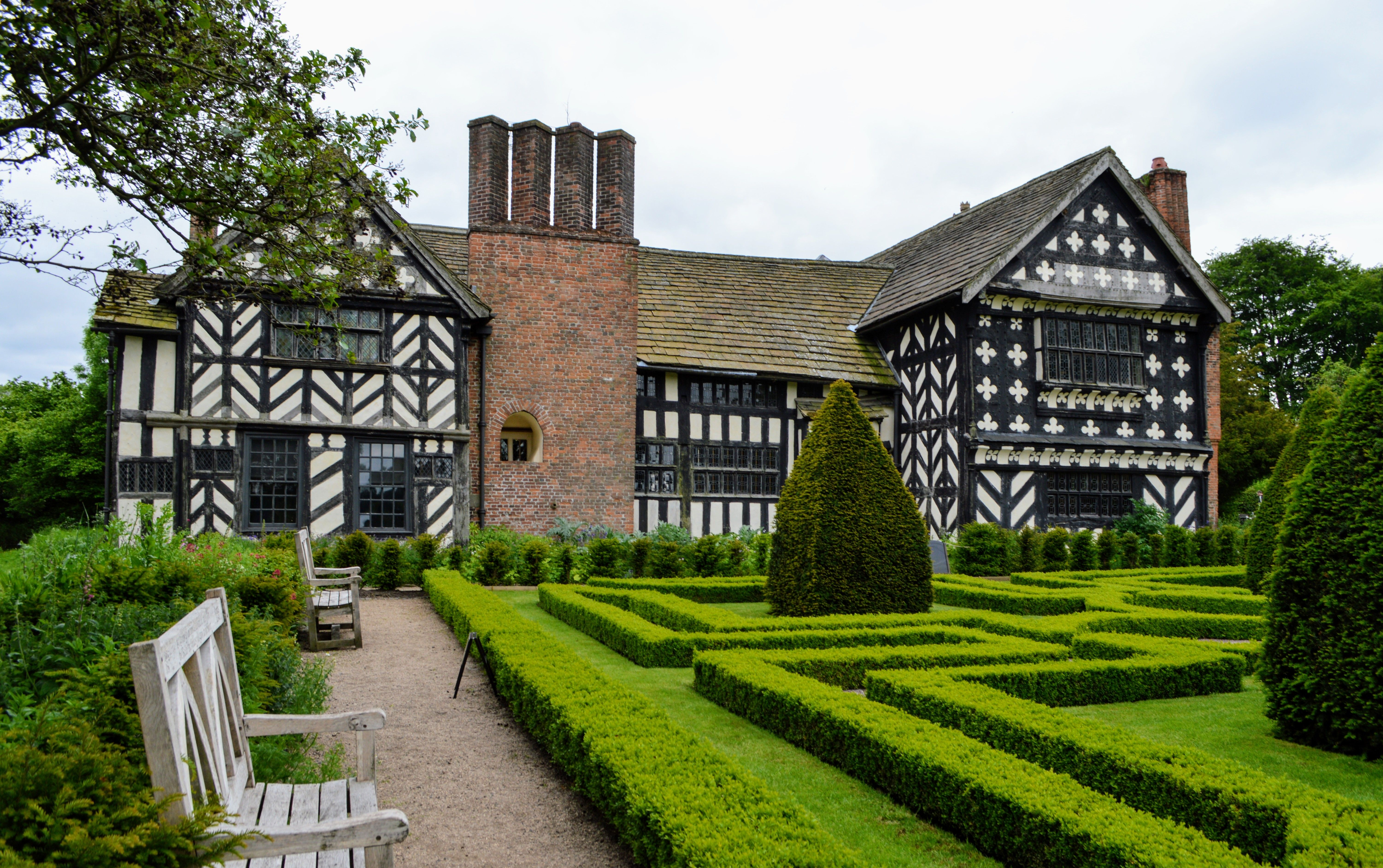 Little Moreton Hall Sublime Half Timber Tudor House Little